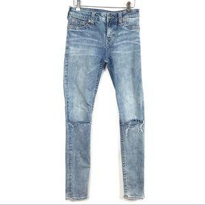 True Religion Super Skinny Slim Fit Jeans Size 28